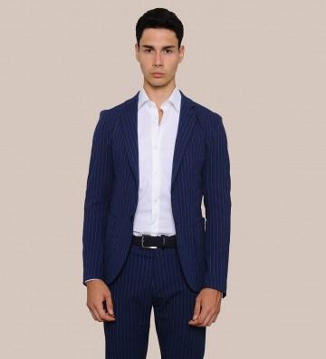 striped cotton Jacket Art....